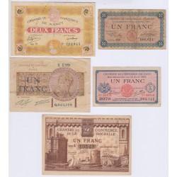 50 CENTIMES CHAMBRE DE COMMERCE ORAN 1922