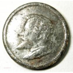 Médaille Uniface Russie Tête de Nicolas II