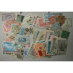 Timbres des colonies françaises (2) Réunion, Guadeloupe, Nouvelle Calédonie etc.