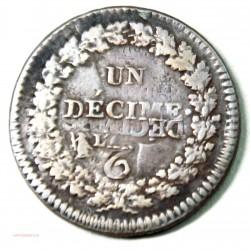 """UN DECIME grand module """"REFRAPPAGE"""" du 2 décimes, lartdesgents.fr"""