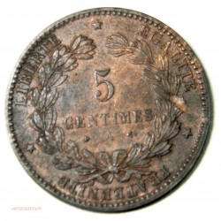 Monnaie Moderne, 5 Centimes Cérès  1873 A TTB+