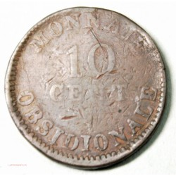 10 CENT . ANVERS Wolschot 1814, R sous le noeud, lartdesgents.fr