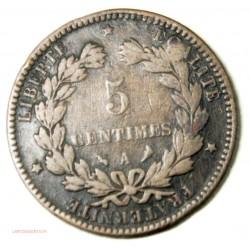 CERES - 5 Centimes 1896 A Torche rare