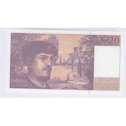 BILLET FRANCE 20 FRANCS DEBUSSY 1997 A.053 NEUF L'ART DES GENTS