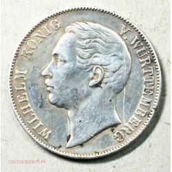 Allemagne - Wurtemberg 1 Vereinstaler 1863, Wilhelm I