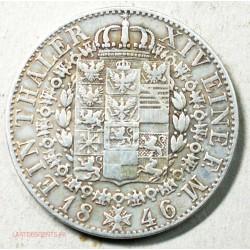 Allemagne - THALER 1846 PREUSSEN, lartdesgents.fr