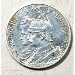Allemagne - 2 mark 1901 PRUSSEN, lartdesgents.fr