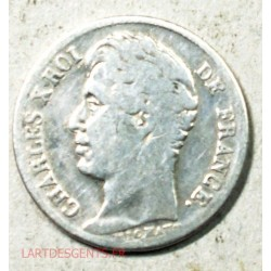 Charles X 1/2 Franc 1829 A Paris, lartdesgents.fr