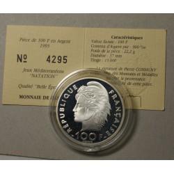 Moderne Jeux Méditerranéens 15 écus/100 francs 1993 Belle épreuve