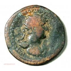 Romaine, Dupondius d'Hadrien 123 ap. J.C. RIC 601 , lartdesgents.fr