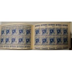 CARNET 20 timbres 65c bleu Alger Casbah neuf**
