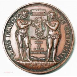 Médaille Ville Royale de COMPIEGNE, école communale de Musique