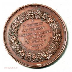 Medaille ouvriers victimes de convention du 22/08/1852 Reconnaissants