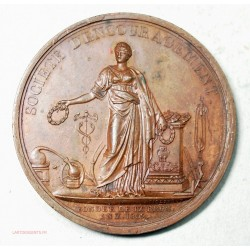 Medaille société d'encouragement décernée en 1858 par Tiolier.F