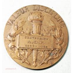 Médaille Militaires Mal Foch , valeur discipline A.O.F 1952 par Prud'homme