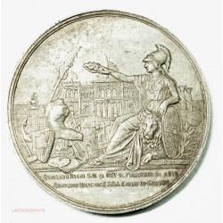 Medalla ESTAÑO Recuerdo Visita a la Exposición Universal de París de 1878