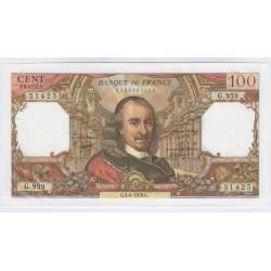 BILLETF RANCE 100 FRANCS CORNEILLE 03-06-1976 SUP COTE 30 Euros L'ART DES GENTS