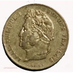Rare 20 Francs Louis Plilippe Ier 1845 A Paris, 927 ex., lartdesgents.fr