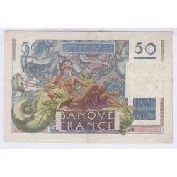 BILLET FRANCE 50 FRANCS LE VERRIER 14-03-1946 TTB L'ART DES GENTS