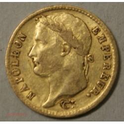 Napoléon Ier laurée, 20 Francs 1811 W Lille, lartdesgents.fr