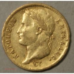 Napoléon Ier laurée, 20 Francs 1811A Paris, lartdesgents.fr
