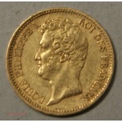 Louis Philippe Ier, 20 Francs 1831 A Paris tranche en creux, lartdesgents.fr