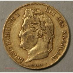 Louis Philippe Ier, 20 Francs 1840 A Paris, lartdesgents.fr