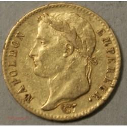 Napoléon Ier laurée, 20 Francs 1815A Paris, lartdesgents.fr
