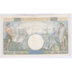 BILLET FRANCE 1000 FRANCS COMMERCE ET INDUSTRIEB06-02-1941 Cote 150 Euros L'ART DES GENTS