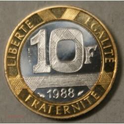 ESSAI 10 Francs 1988 Géni de la bastille