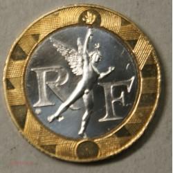 ESSAI 10 Francs 1988 Génie de la bastille