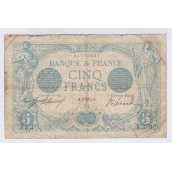 BILLET FRANCE 20 FRANCS BLEU 15-04-1914 TB Cote 40 Euros L'ART DES GENTS