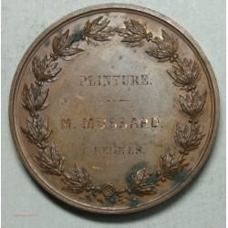 Médaille EXPOSITION Peinture à RENNES 1849, décernée