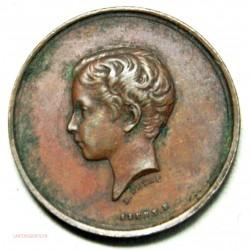 MédailleSociété du prince impérial 1862 par STERN.E