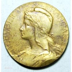 Médaille République Française signée Abel Lafleur