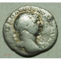 Romaine,  denier Trajan 97-117 après JC. lartdesgents.fr