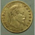 NAPOLEON III 5 Francs or 1863A Paris, lartdesgents.fr Avignon