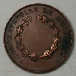 Médaille VILLE DE VERSAILLES conservatoire de musque, lartdesgents.fr