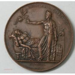 Médaille JOSEPH GALL 1820 (physiologie du cerveau) signée BARRE.F lartdesgents.fr