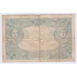 BILLET FRANCE 20 FRANCS NOIR 25-06-1904 Etat B L'ART DES GENTS NUMISMATIQUE AVIGNON