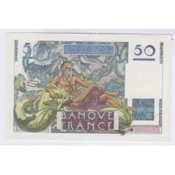 50 FRANCS LE VERRIER 14-03-1946 TB