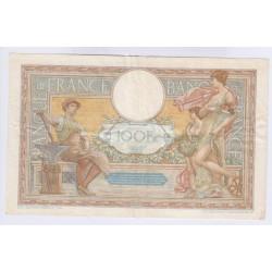 BILLET FRANCE 100 FRANCS LOM 07-01-1932 TTB+ Petit Numéro L'ART DES GENTS AVIGNON