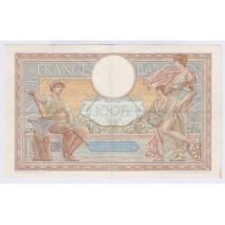 BILLET FRANCE 100 FRANCS LOM 23-12-1937 TTB+  L'ART DES GENTS AVIGNON