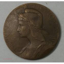 Médaille bronze , Agriculture par Abel La Fleur 46mm