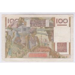 BILLET FRANCE 100 FRANCS JEUNE PAYSAN 29-06-1950 TTB+ L'ART DES GENTS