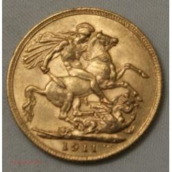 Souverain, Souvereign Georges V 1911, lartdesgents.fr