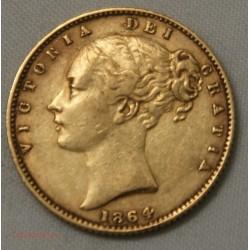 Souverain, Souvereign Victoria 1864 die 34, lartdesgents.fr
