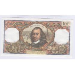 BILLET FRANCE 100 FRANCS CORNEILLE 05-10-1972 NEUF COTE 120 Euros L'ART DES GENTS