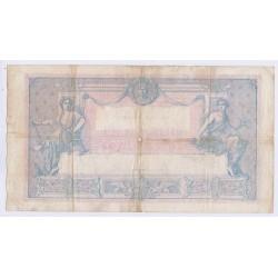 BILLET FRANCE 1000 FRANCS BLEU ET ROSE 05-10-1923 TB L'ART DES GENTS AVIGNON