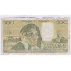 FAUX BILLET 500 FRANCS PASCAL  L'ART DES GENTS AVIGNON